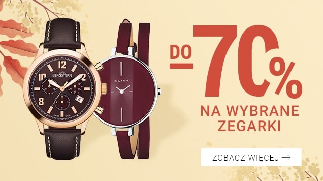 Zegarki w promocji