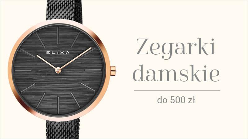 Zegarki damskie do 500 zł
