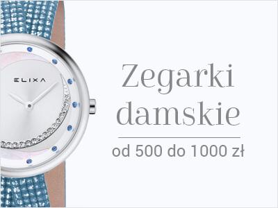 Zegarki damskie 500-1000 zł