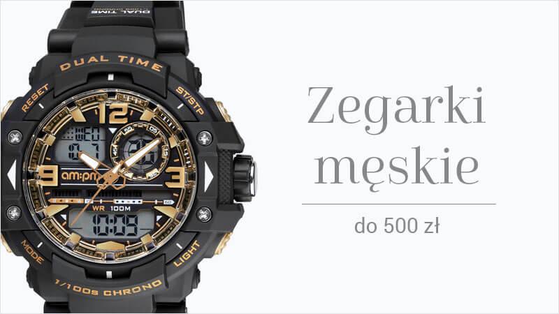 Zegarki męskie do 500 zł