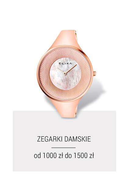 Zegarki damskie  do 1499 zł