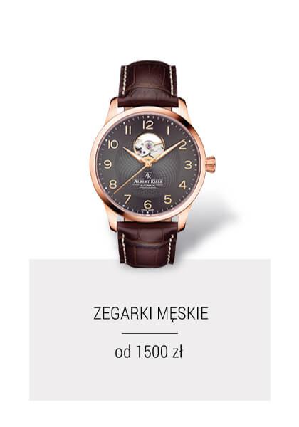 Zegarki męskie od 1500 zł