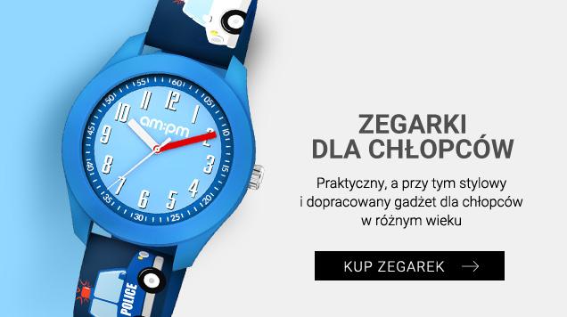 Zegarki dla chłopców