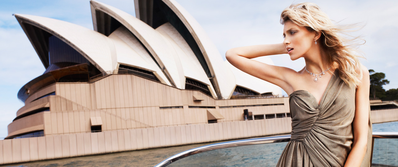 Kulisy sesji z Anją Rubik w Australii