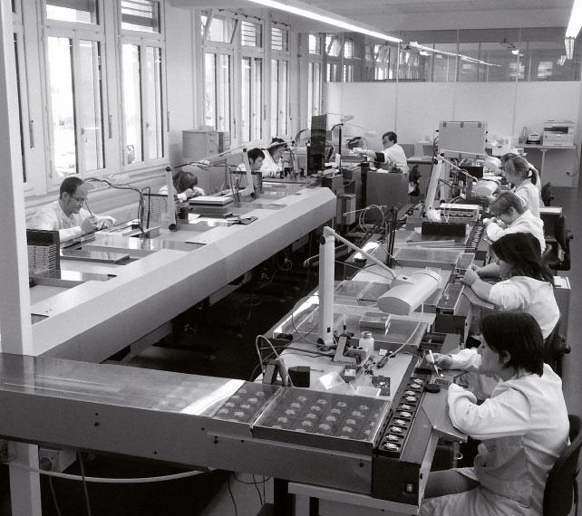 Produkcja zegarków