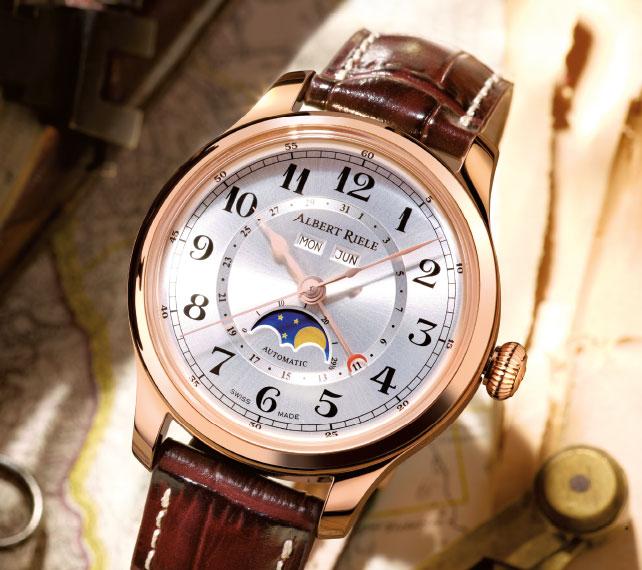 Zegarek Albert Riele