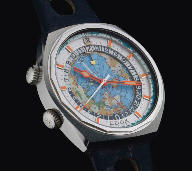 Zegarek Edox - glob